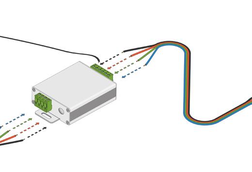 RGB / RGBW forstærker