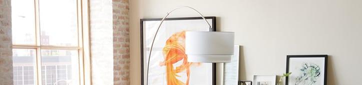Hundredvis af lamper til stuen, find præcis den lampe der passer ...