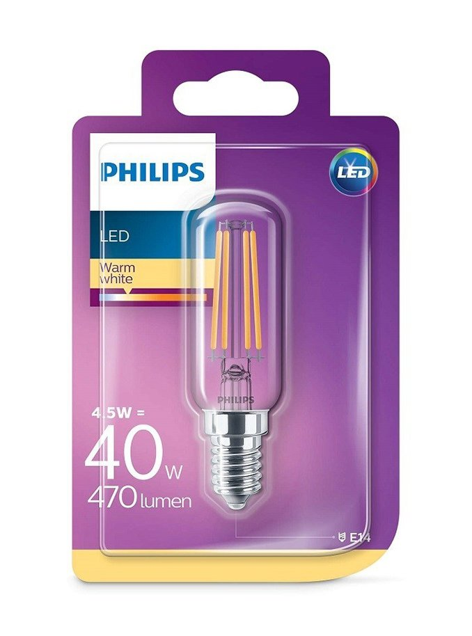 Image of   E14 - Philips LED Rørpære - 4.5W