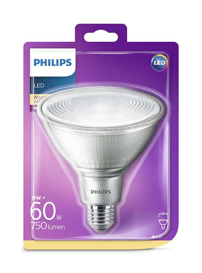Image of   E27- Philips LED Reflektor - 9W