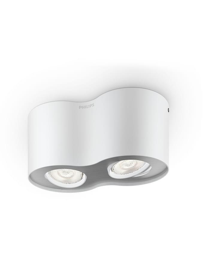 Philips myLiving Phase Spot LED 2 stk Hvid