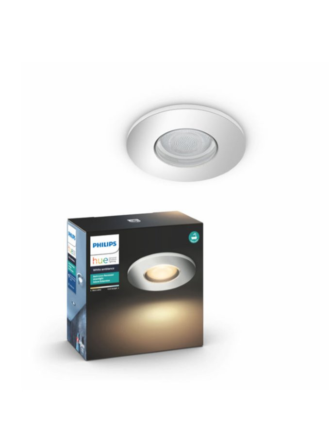 Image of   Philips Hue Adore Indbyg. spot - IP44 - Chrome