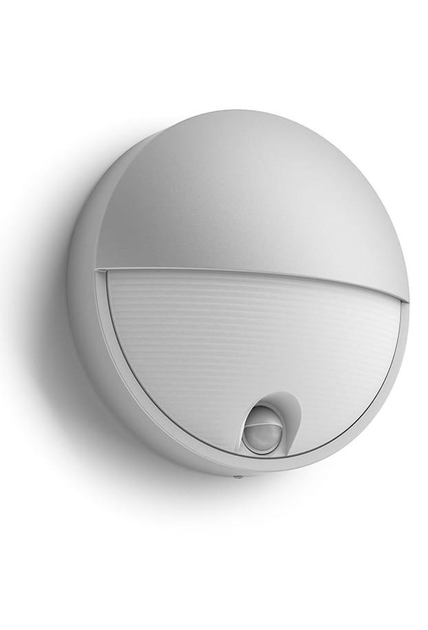 Image of   Philips myGarden Capricorn Væglampe LED Grå m. sensor