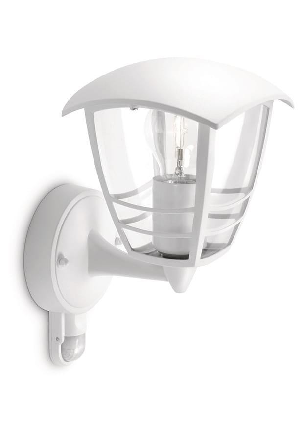 Image of   Philips myGarden Creek Væglampe Hvid m. sensor