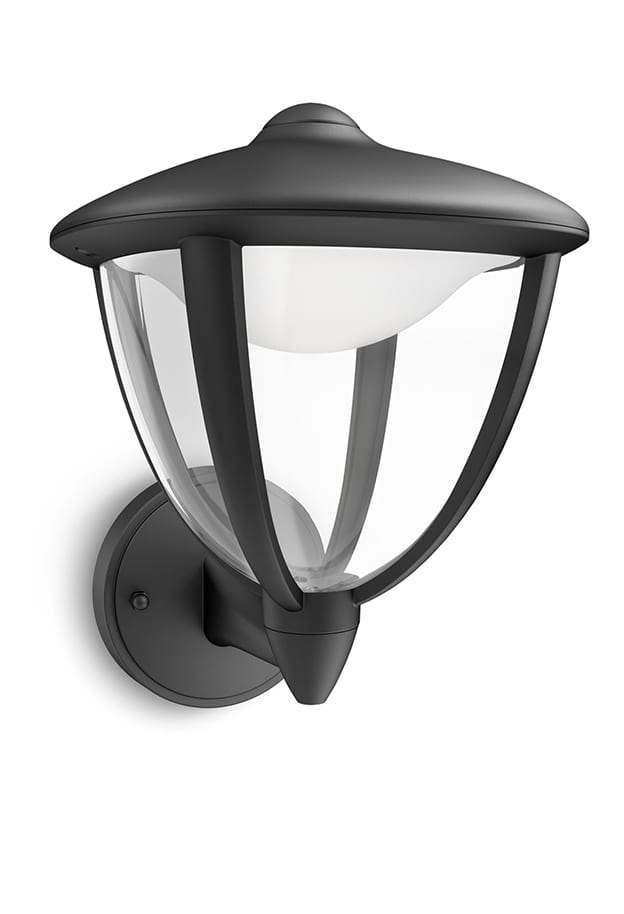 Image of   Philips myGarden Robin Væglampe LED op Sort