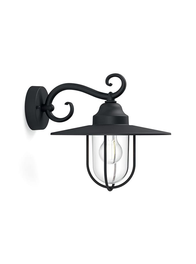 Image of   Philips myGarden Pasture Væglampe Sort