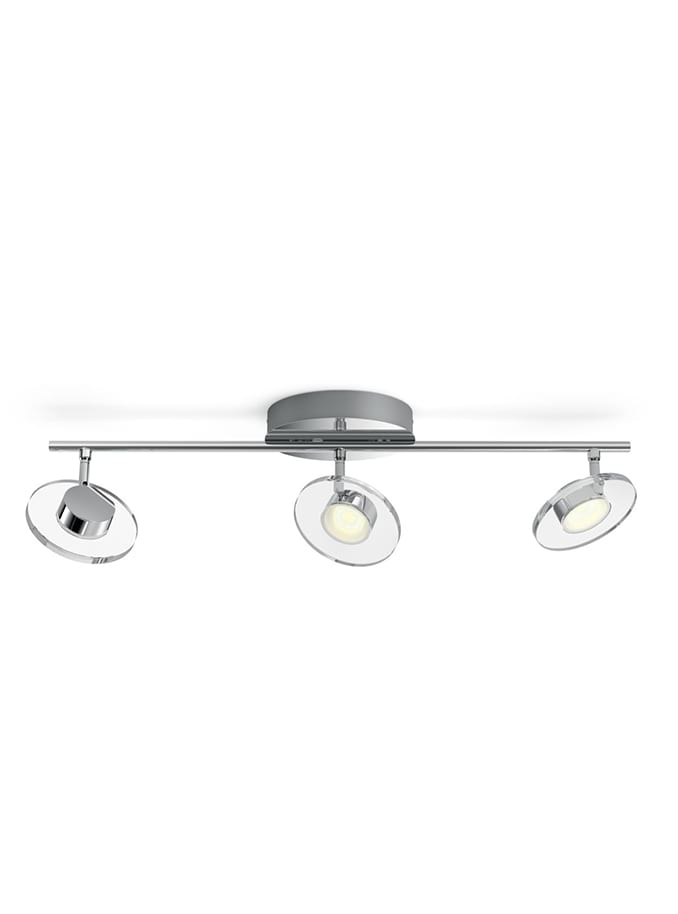 Philips myLiving Glissette Spot LED 3 stk Krom