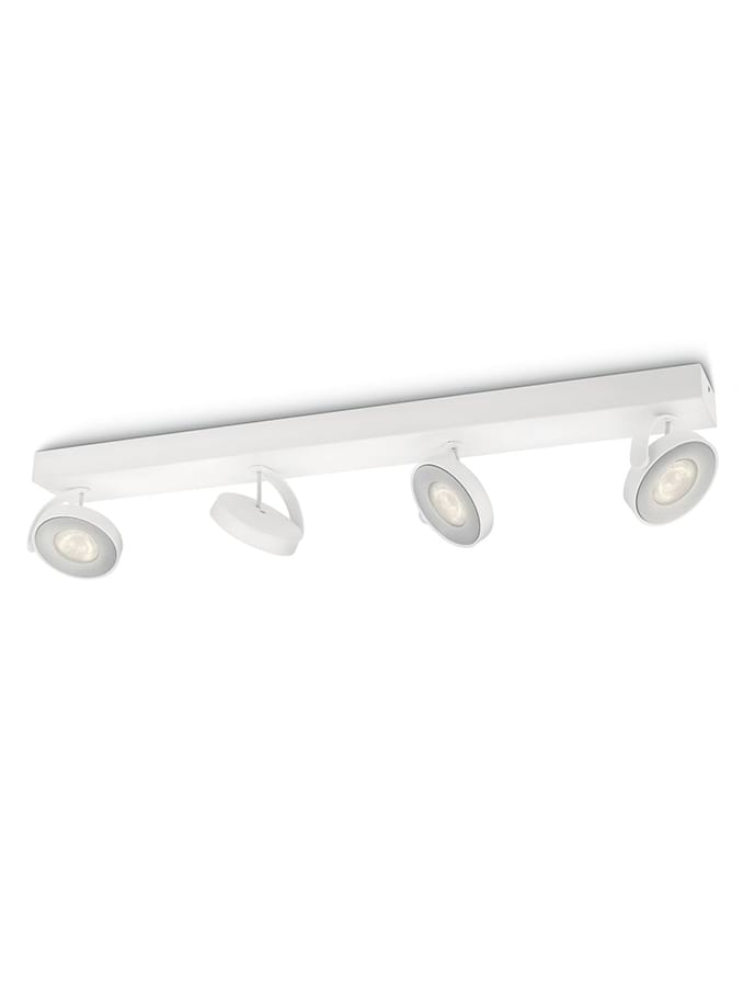 Philips myLiving Clockwork Spot LED 4 stk Aluminium