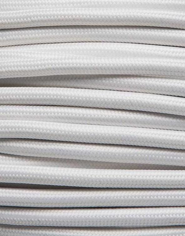 Image of   Hvid stofledning