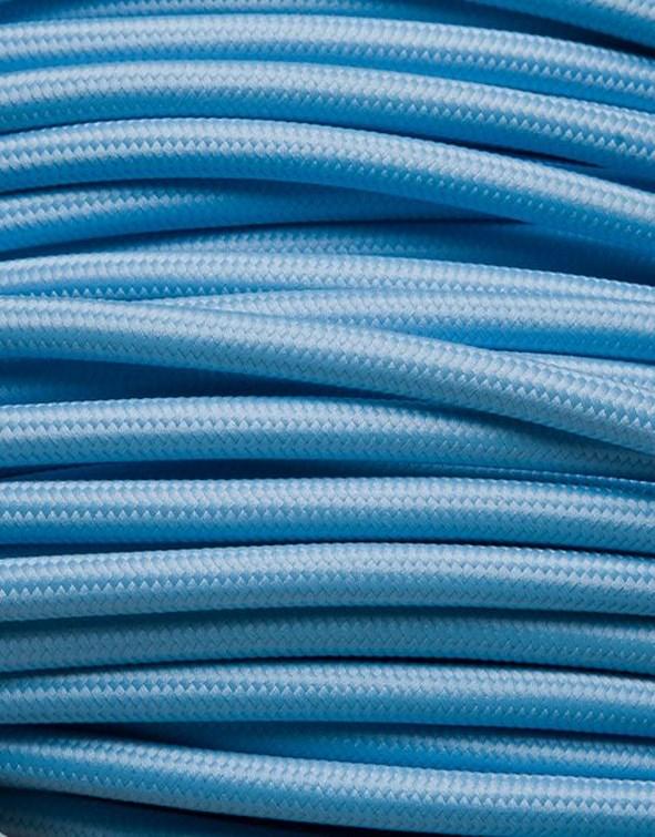 Image of   Babyblå stofledning