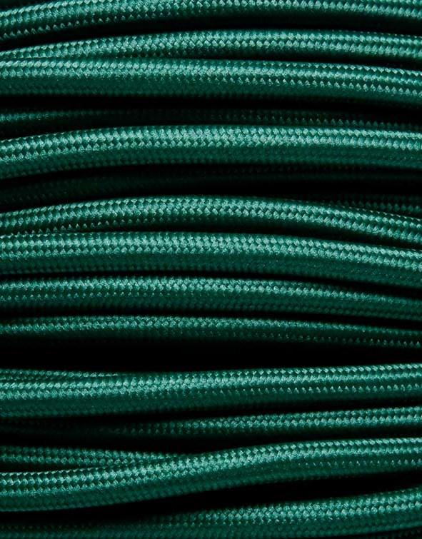 Image of   Mørkegrøn stofledning