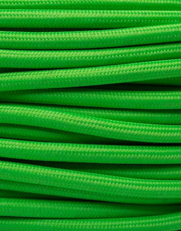 Image of   Neon grøn stofledning
