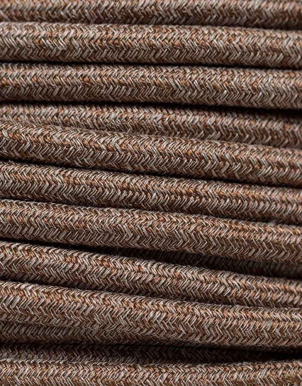 Image of   Kobber meleret stofledning