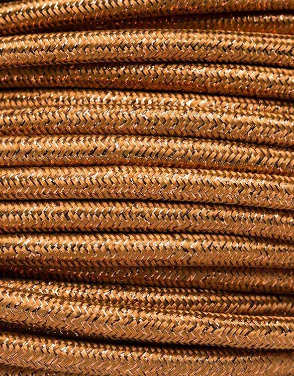 Image of   Guld glimmer stofledning