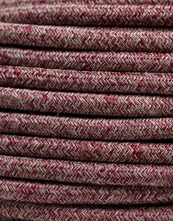 Image of   Rød meleret stofledning