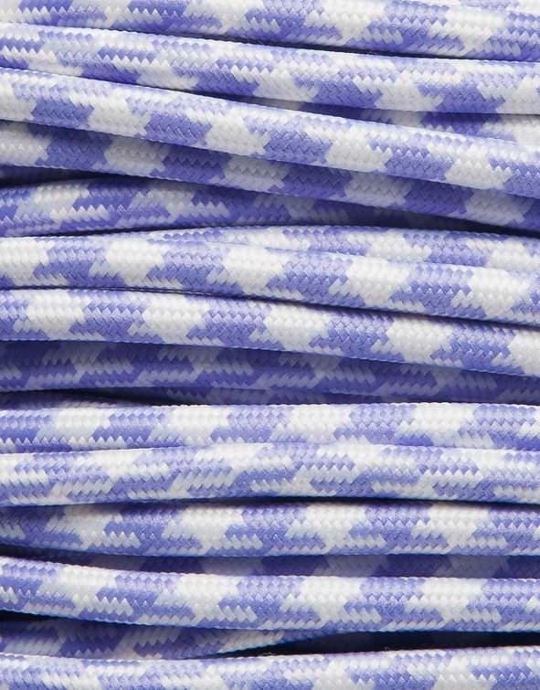 Image of   Lilla tofarvet stofledning