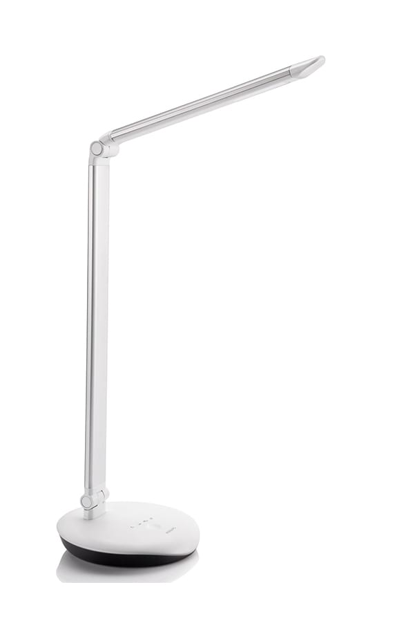 Image of   Philips Lever Bordlampe LED Sølvfarvet