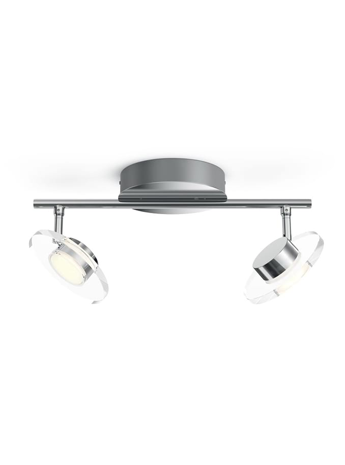 Philips myLiving Glissette Spot LED 2 stk Krom