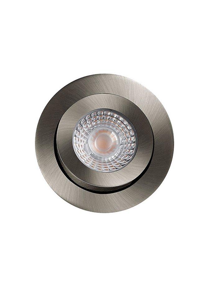 Image of   HiluX D3 LED Spot 5W - Ra97 - 380LM - 2700K - Børstet