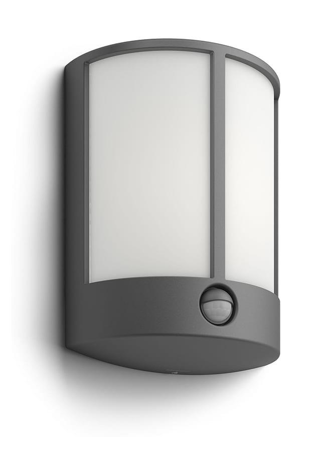 Image of   Philips myGarden Stock Væglampe LED Grå m. sensor