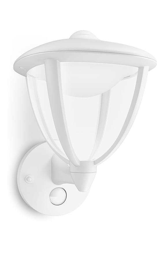 Image of   Philips myGarden Robin Væglampe LED Hvid m. sensor