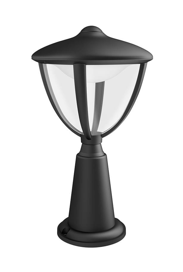 Image of   Philips myGarden Robin Stander-/søjlelampe LED lav Sort