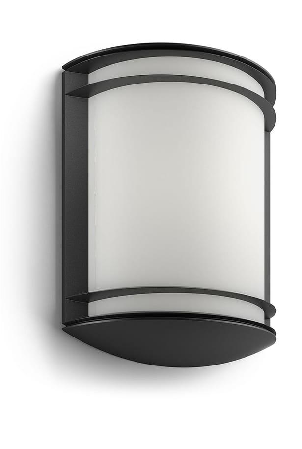 Image of   Philips myGarden Antelope Væglampe LED Sort
