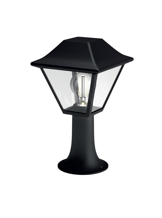 Image of   Philips myGarden Alpenglow Stander-/søjlelampe lav Sort
