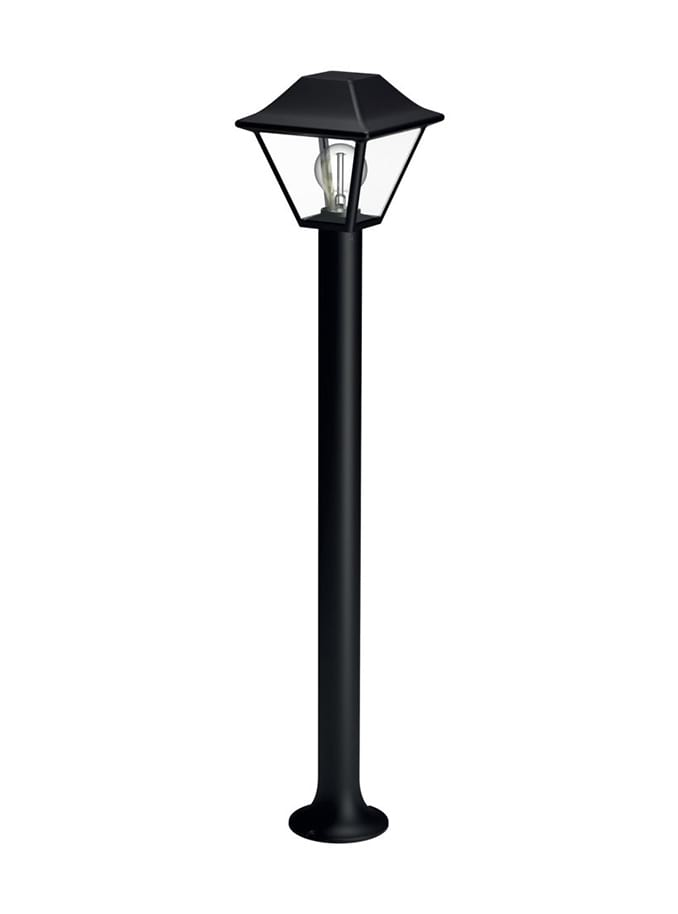 Image of   Philips myGarden Alpenglow Stander-/søjlelampe høj Sort
