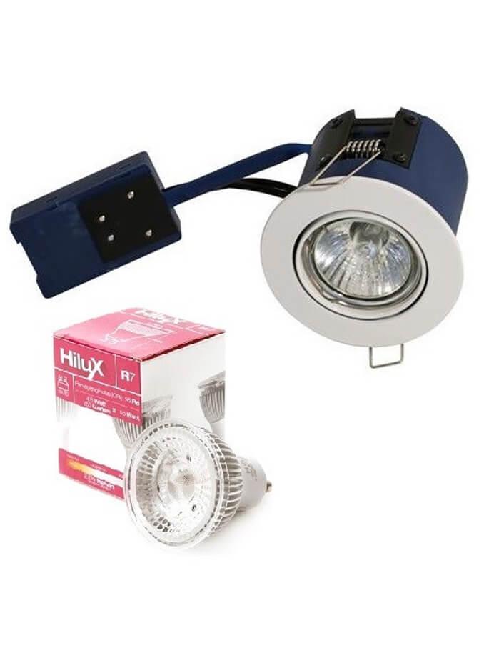 Image of   Blue-DL Downlight - inkl. HiluX Spot, Ra95 - Hvid el. børstet stål