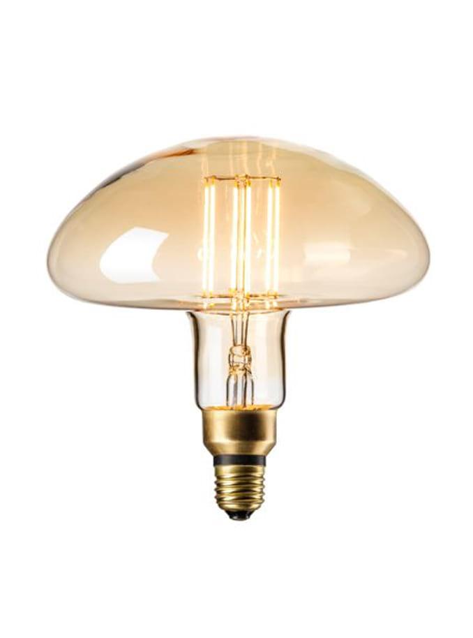 Image of   Calex XXL Calgary LED lampe - Gylden - 6W