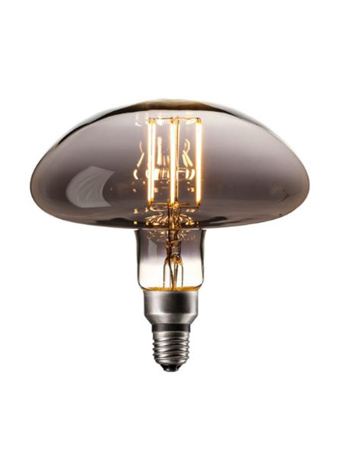 Image of   Calex XXL Calgary LED lampe - Titanium - 6W