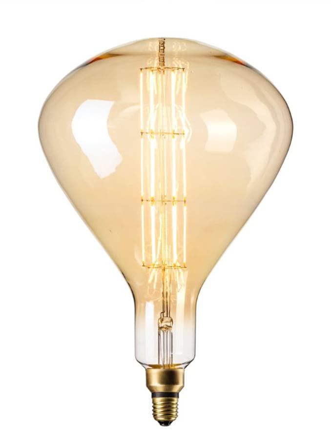 Image of   Calex XXL Sydney LED lampe - Gylden - 8W