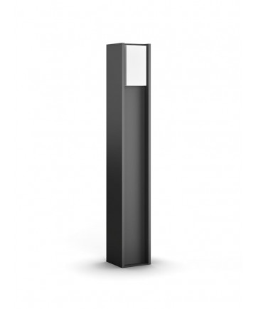 Philips Hue Turaco Udendørs Bedlampe 80cm - Søjlelampe - Gratis levering