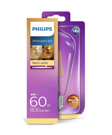 E27 - Philips Edison LED - 8W - Warm Glow