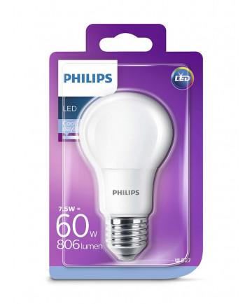 E27 - Philips Classic LED - 7.5W - 6500K