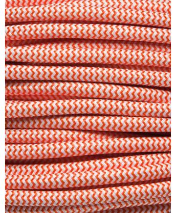 Orange zig-zag stofledning