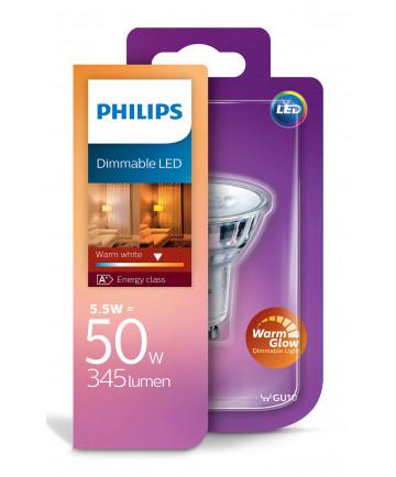 GU10 - Philips LED Spot - 5W - Warm Glow