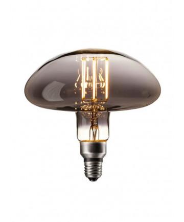 Calex XXL Calgary LED lampe - Titanium - 6W