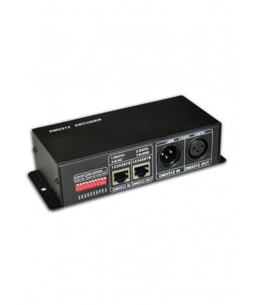 DMX Lysdæmper til RGBW LED Bånd