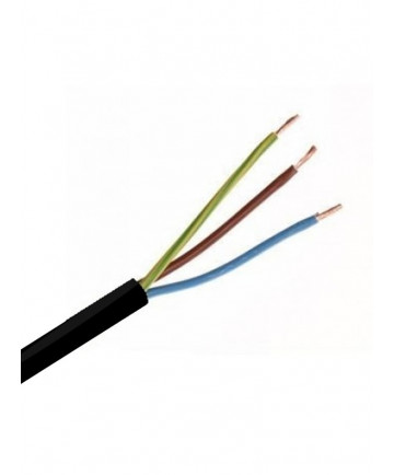 Sort downlight kabel, danmarks billigste