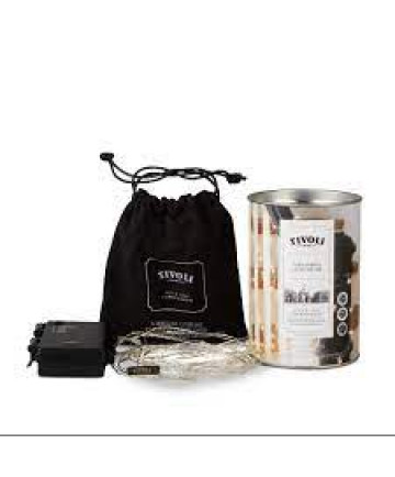 Tivoli LED Lyskæde - Sølv - 5m - Batteri