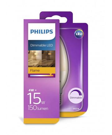 E14 - Philips LED Kerte Pære - 4W