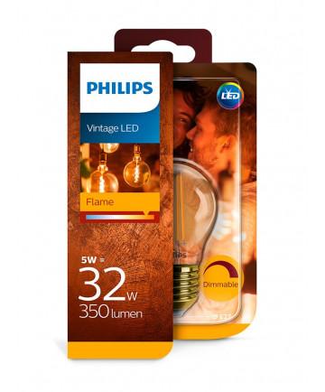 E27 - Philips LED Krone - 5W (dæmpbar)