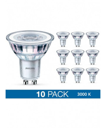 GU10 - Philips LED Spot - 4.6W - 10-pack