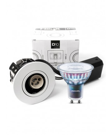 HiluX D10 inkl. Philips Master Dæmpbar 4,9W (50W)