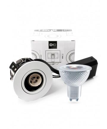 HiluX D10 Indbygningsspot - inkl. HiluX V1 LED spot