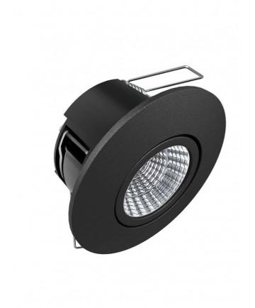 HiluX D6 LED Spot 3000K - Sort (Full Spectrum) - Udendørs