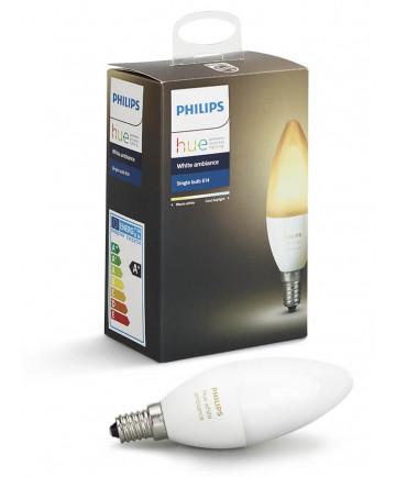 Philips Hue Ambiance E14 LED pære - Gratis levering