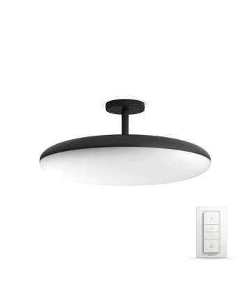 Philips Hue Cher Semi-Flush Plafond - Sort